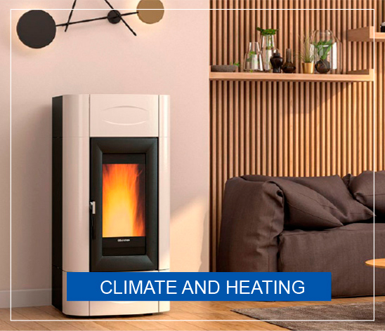 Wood stoves, Pellet stoves, everything for heating