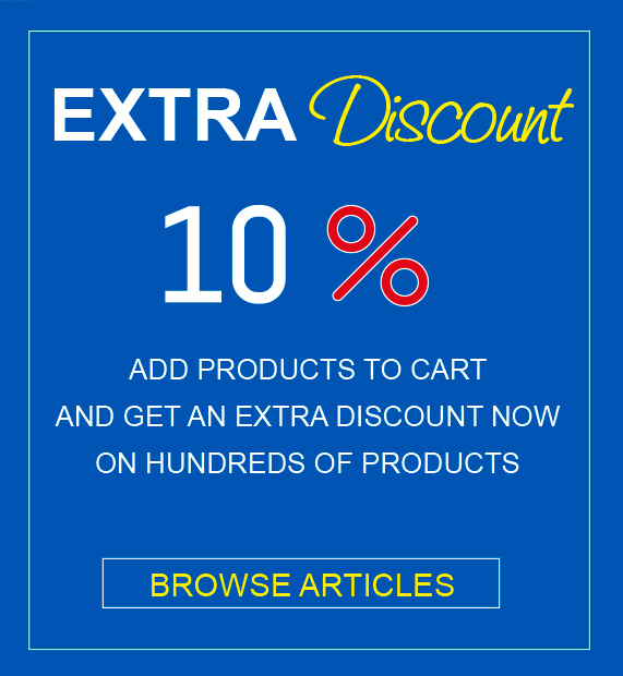 Promo 10 Extra discount on hundreds of products